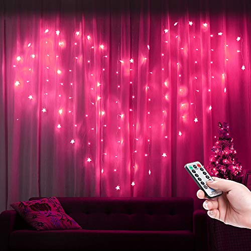 Pink Heart Led Lights in US - 8