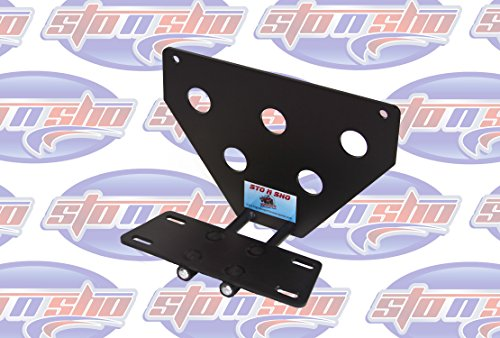 2013-2014 Ford Focus ST Sto-N-Sho Removable Take Off Front License Plate Frame Bracket