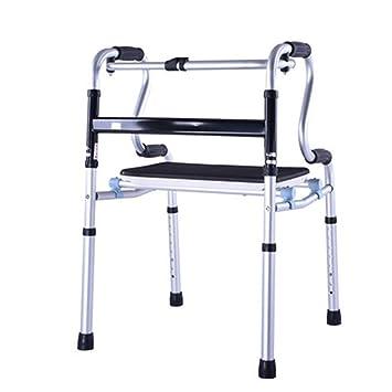Amazon.com: TYJ-USA Walker silla de bastón de ayuda para ...