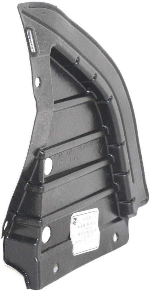 Engine Splash Shield Set of 2 compatible with 2002-2007 Mitsubishi Lancer ES Under Cover Right and Left Side Front