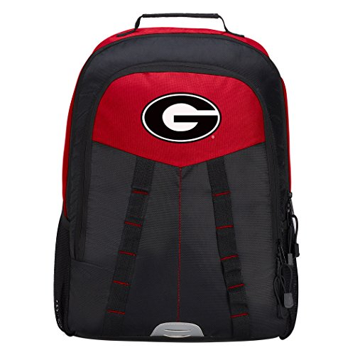 - Officially Licensed NCAA Georgia Bulldogs Scorcher Sports Backpack, Red