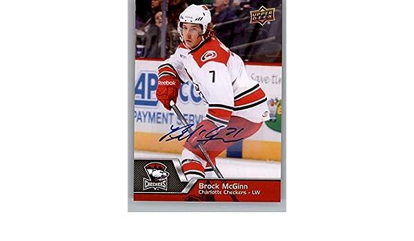 Amazon.com  2014-15 Upper Deck AHL Autographs Hockey  139 Brock McGinn Auto  Autograph Charlotte Checkers  Collectibles   Fine Art c6186efae