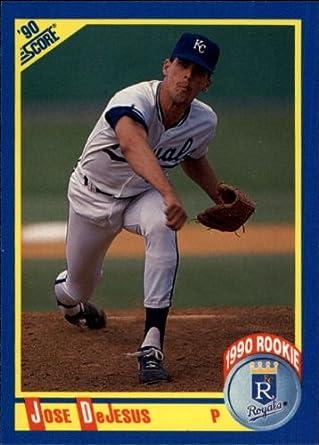 Amazoncom 1990 Score Baseball Card 587 Jose Dejesus Near