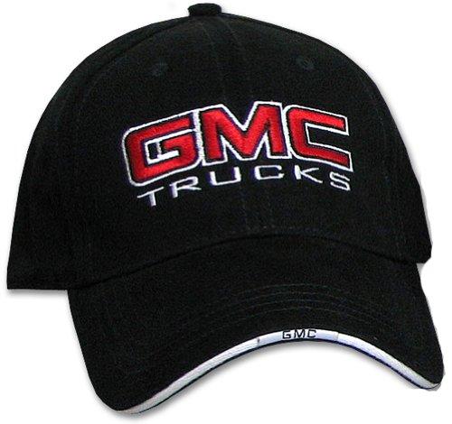 gmc-trucks-cap-fine-embroidered-classic-hat-solid-black