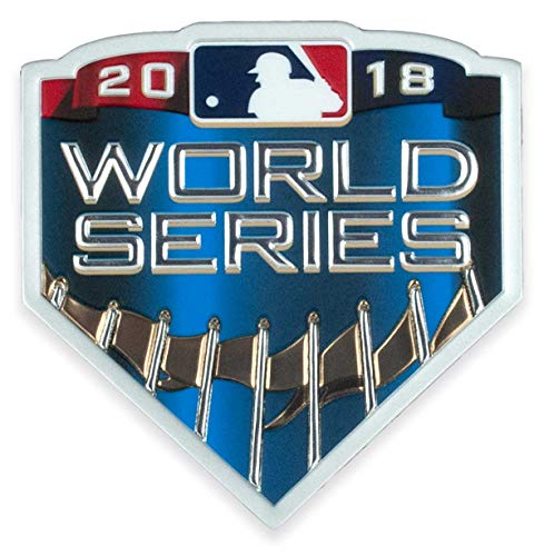 World Patch Series Emblem (2018 MLB Major League Baseball World Series EmbossTech Collectors Patch)
