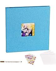VACNITE Álbum de Fotos Familiar, Adecuado para Hacer Album de Boda, Album de Crecimiento de Niño, Mica Protectora con las Fotos