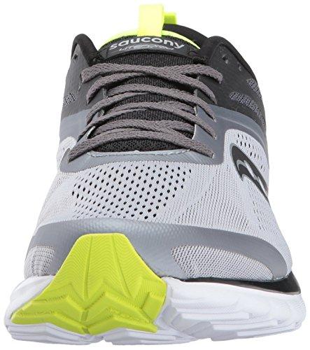Saucony Women's Miles Sneaker Grey Citron Jz7qcd9
