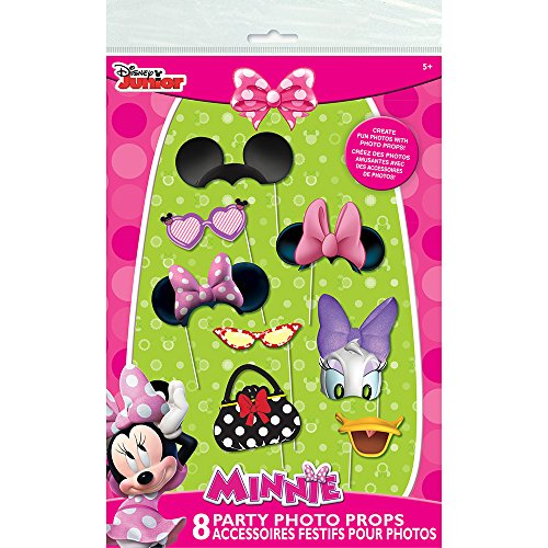Minnie Mouse Photo Booth Props, -