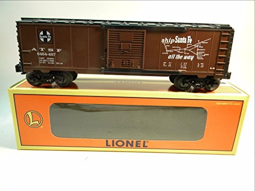 Lionel 29202 Atchison, Topeka and Santa Fe 6464 Map Car Box - Topeka Stores
