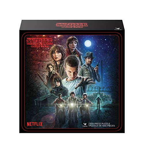 Cardinal Games 6046948 Stranger Things Puzzle, One Size, Multicolor