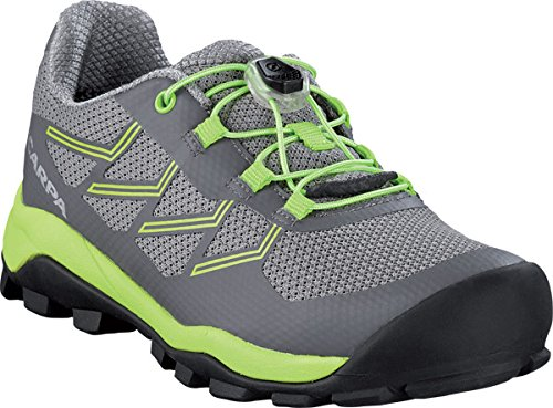 Scarpa Neutron Kid WP midgray/lime