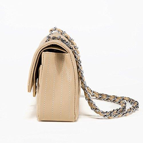 Bolso Femenino Bolso Diagonal de la Manera Del Caviar de la Moda Bolso de Las Mujeres de Gama Alta de la Moda,Segundo UN