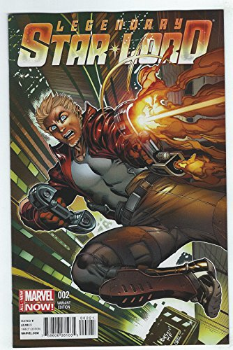 The Legendary Star Lord #2 McGuinness Variant Cover