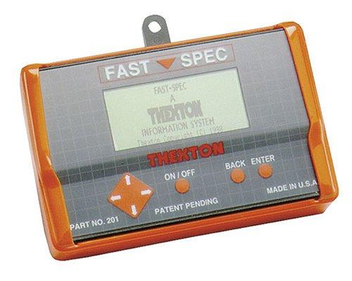 Thexton 201 Fast-SPEC