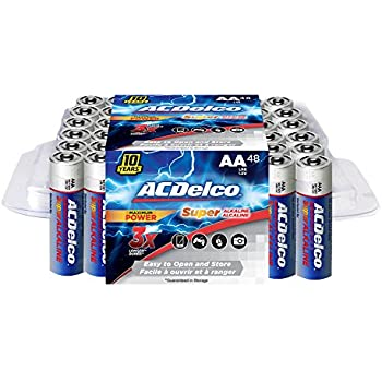 Amazon.com: Maxell 723443 Alkaline Battery AA Cell 48-Pack