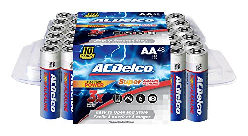 ACDelco Batteries Alkaline Battery Performance