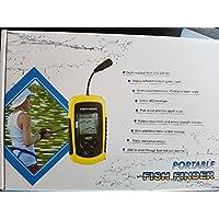 Lixada 100m tragbaren Sonar-Sensor Fishfinder Fischfinder Alarm Strahl Sensor