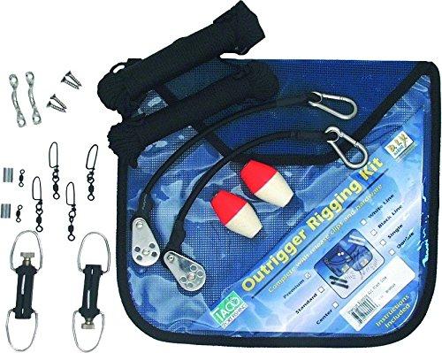 Premium Black Outrigger Rigging Kit