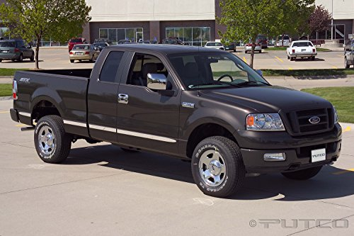 Super Cab 6' Box - Putco Fits 2004-2008 Ford F150 Super Cab 6' Box (w/o flares) - Billet Aluminum Body Side Molding
