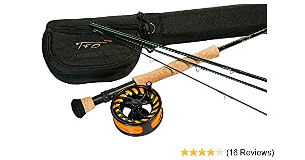 LIFETIME WARRANTY 9 Foot Fly Rod Temple Fork Outfitters NXT 4-Piece 5//6 Wt