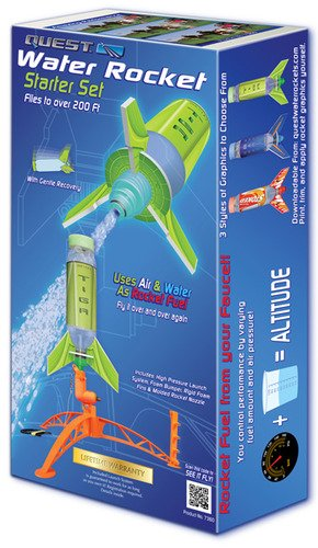 Quest Aerospace Deluxe Single Water Rocket Set by Quest Aerospace (Model Rocket Starter Set compare prices)