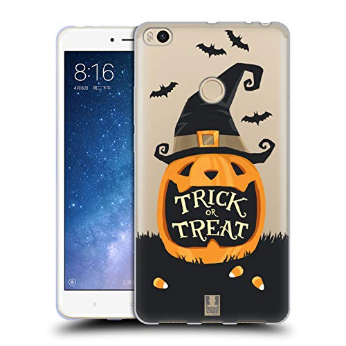 Head Case Designs Jack O' Lantern Halloween Characters Soft Gel Case for Xiaomi Mi Max 2 -