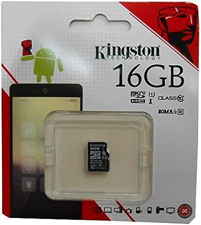 Class 4 Professional Kingston 16GB MicroSDHC Card for Samsung SM-G870ATSEATT with custom formatting and Standard SD Adapter!