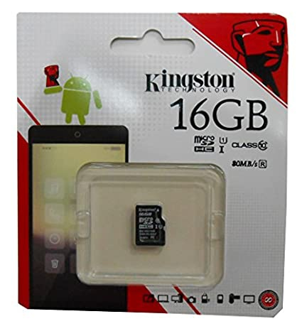 Kingston Digital 64GB microSDXC Class 10 UHS-I 45MB//s Read Card with SD Adapter SDC10G2//64GB