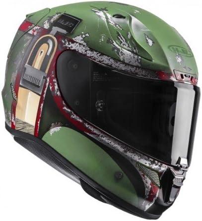 S Casco de moto HJC RPHA 11 BOBA FETT Verde