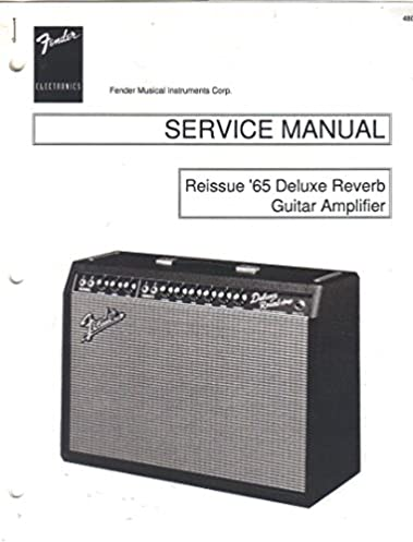 fender 65 deluxe reverb amp reissue guitar amplifier service rh amazon com fender deluxe reverb ii owner's manual fender deluxe reverb reissue owners manual