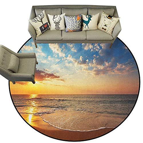 Ocean,Personalized Floor mats Cloudscape Over The Sea Honeymoon Travel Destination Sunrise Panoramic Shot D36 Floor Mat Entrance Doormat