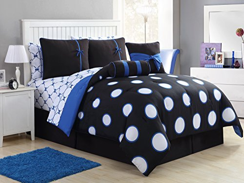 Victoria VCNY Home Sophie Polyester 8 Piece SUPER SOFT Co...