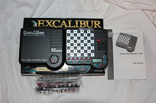 Chess Excalibur Travel (Excalibur Travel King Master II)
