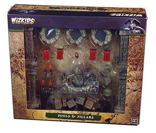 WizKids Dungeons & Dragons Fantasy Terrain Pools & Pillars
