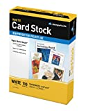 GP Card Stock, 8.5 x 11 Inches Letter Size, 92 Bright White, Ream of 150 Sheets (994803)