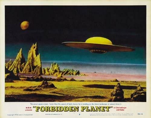 "Poster Replica 14 x 11/"" Photo Print Forbidden Planet Robby the Robot"