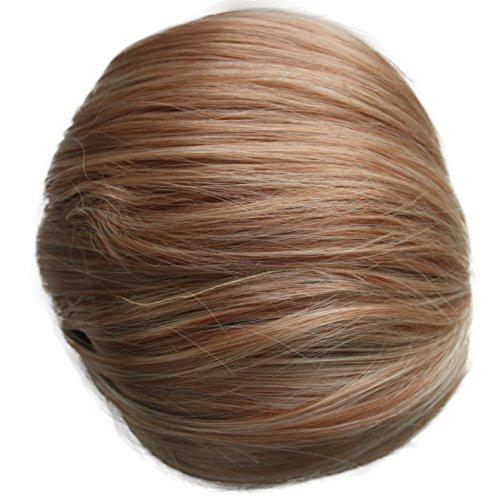 PRETTYSHOP Up Do Hair Bun Topknot Knot Scrunchy Scrunchie Hair Piece Pony Tail Draw String Elegant Lovely Div. Colours (strawberry blonde mix 22/613 HD9)