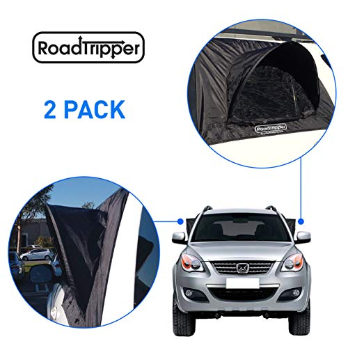 EasyGoProducts EGP-Auto-003-D RoadTripper -SUV Tent - Works as Vent, Bug Guard and Sun Screen Canopy-Car Camping Accessory (2 Packs)