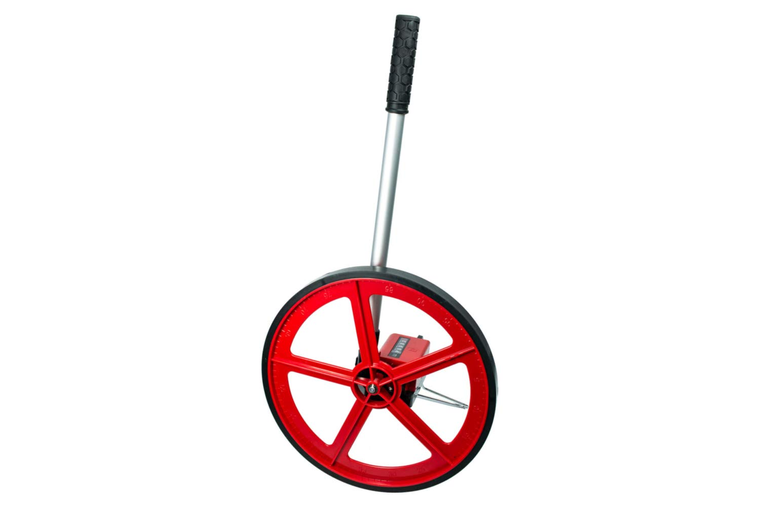 Arbor Scientific Deluxe Trundle Wheel with Metered Counter, Heavy-Duty Construction, Telescoping Handle and Carrying Case by Arbor Scientific
