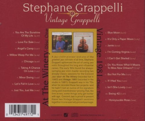 Vintage Grappelli by Concord Records