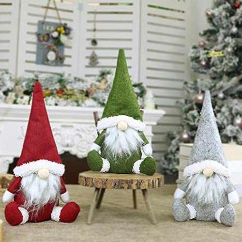 pairris Faceless Santa Doll Window Decoration Christmas Decorations Gift Furniture Stickers