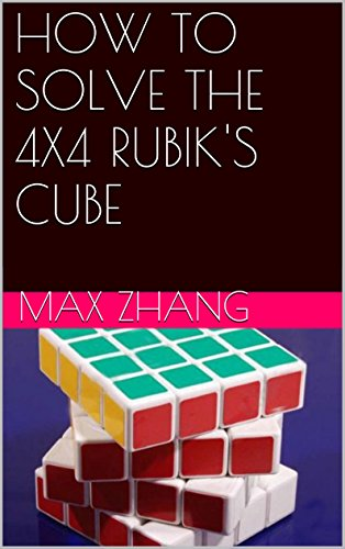 HOW SOLVE 4X4 RUBIKS CUBE ebook product image