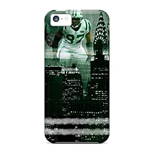 Durable Hard Phone Covers For Iphone 5c (gdL2923aege) Allow Personal Design Vivid New York Jets Series