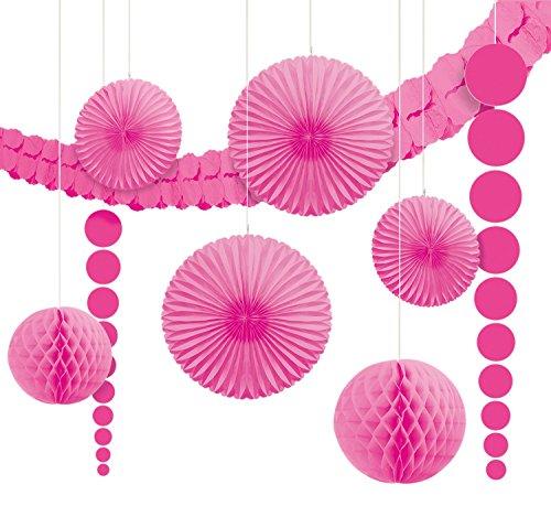 DesignWare Paper Decorating Kits, Pink (Pink Decorating Kit)