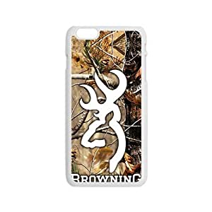 Browning Fashion Comstom Plastic case cover For Iphone 6