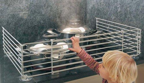 Grille de protection pour cuisinière