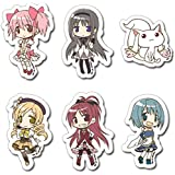 Madoka Magica Character Sticker Set