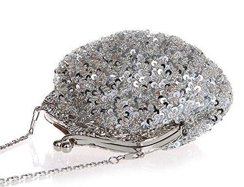 TOOKY Pochette pour Pochette TOOKY pour femme silver Pochette silver TOOKY femme pour BSSd7Orn