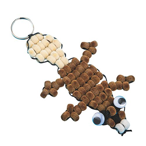 Fuzzy Beaver (Fuzzy Beaver Pony Bead Craft Kit (Pack of 12) - SSW-GP3115)