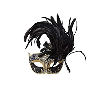 Máscara de Plumas máscaras Princesa mascarilla Mascarada máscara de Las Mujeres Partido máscara_A1
